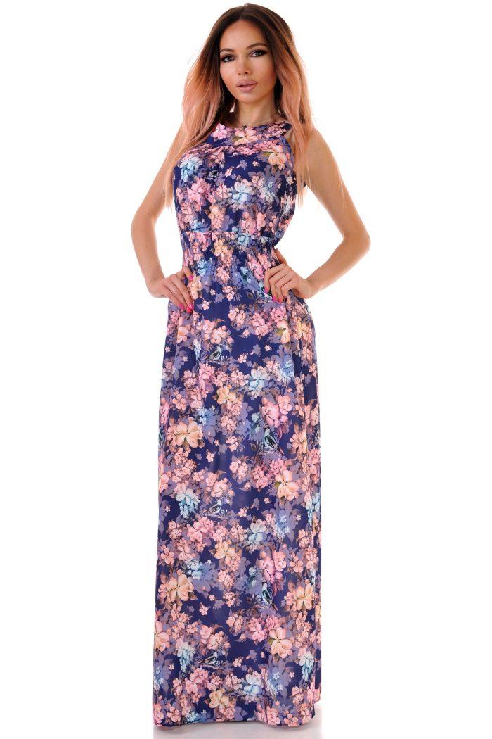 рокля дълга лятна