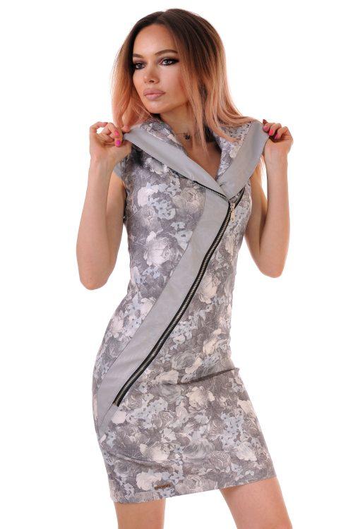 рокля лятна с цип