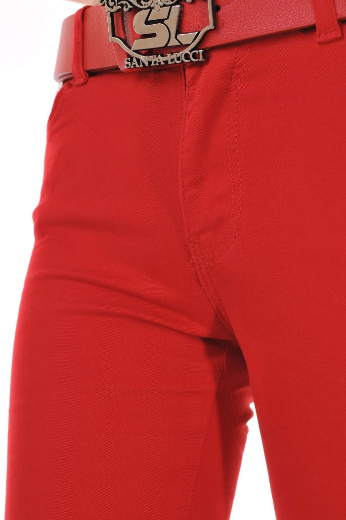 червени дънки