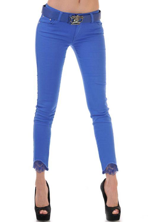 сини дамски дънки