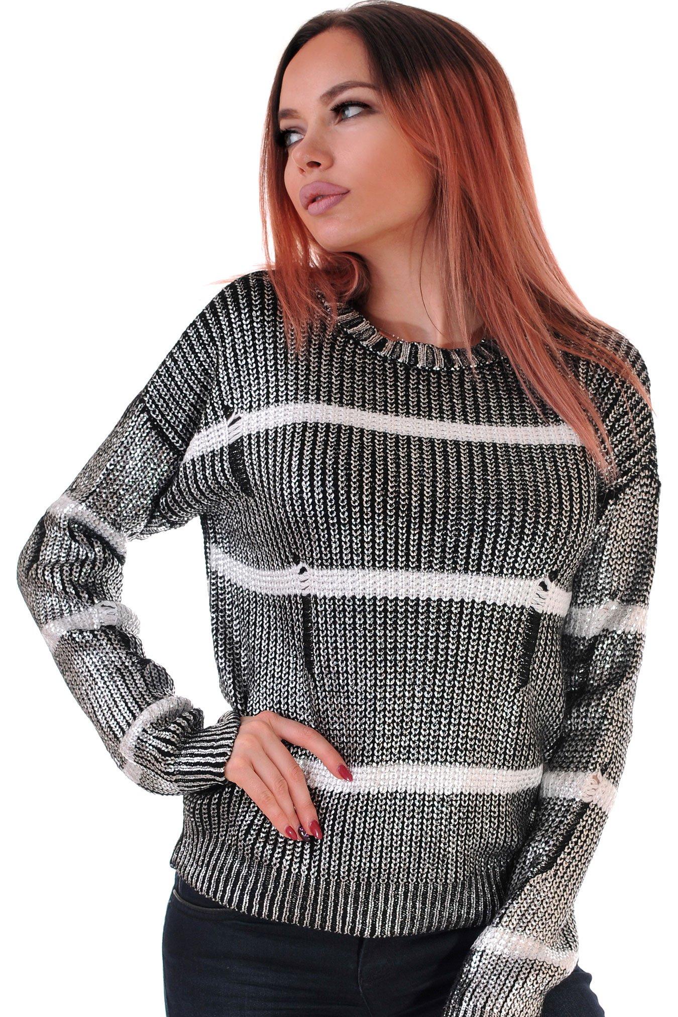 пуловер плетиво