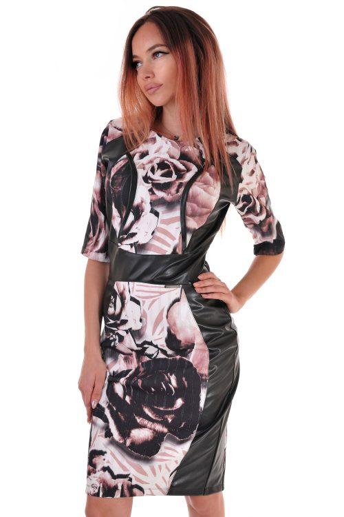 българска рокля на рози