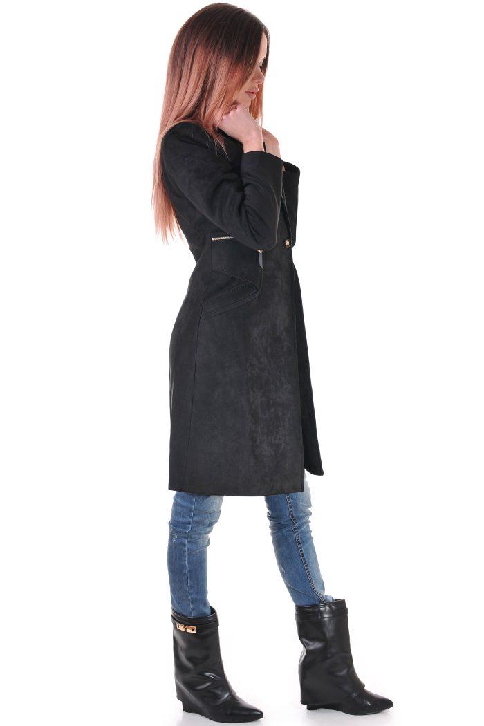 черно дамско манто