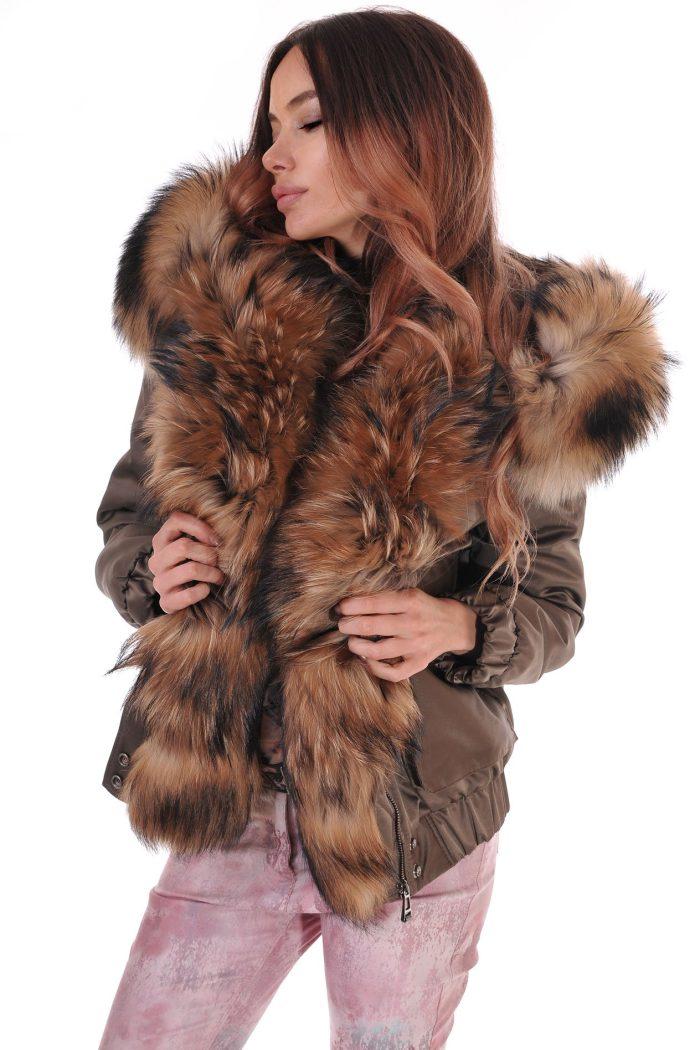 лисица зимно палто