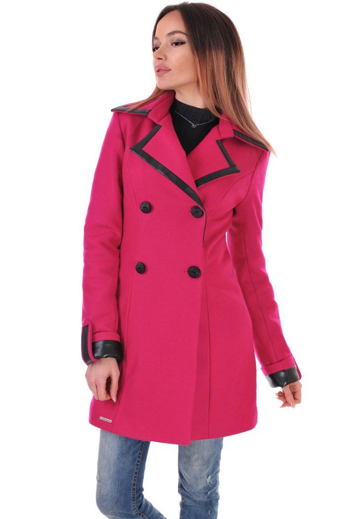 палто зимно циклама