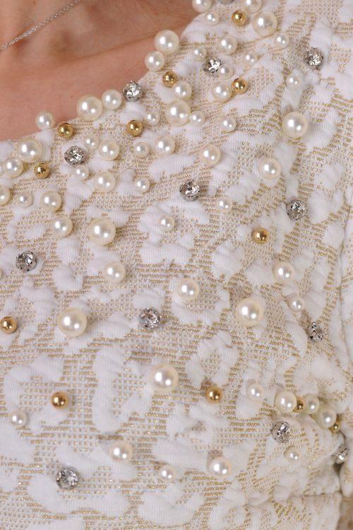 рокля с перли