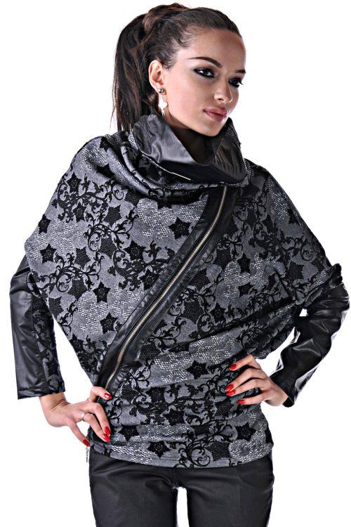 пончо блуза