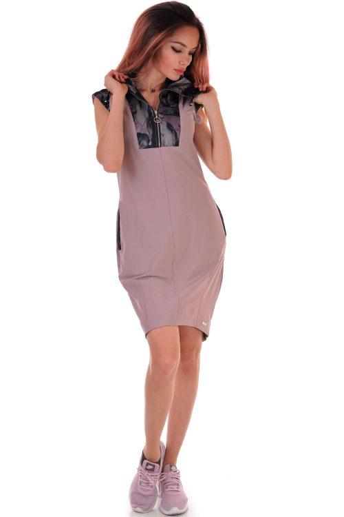 рокля лилава