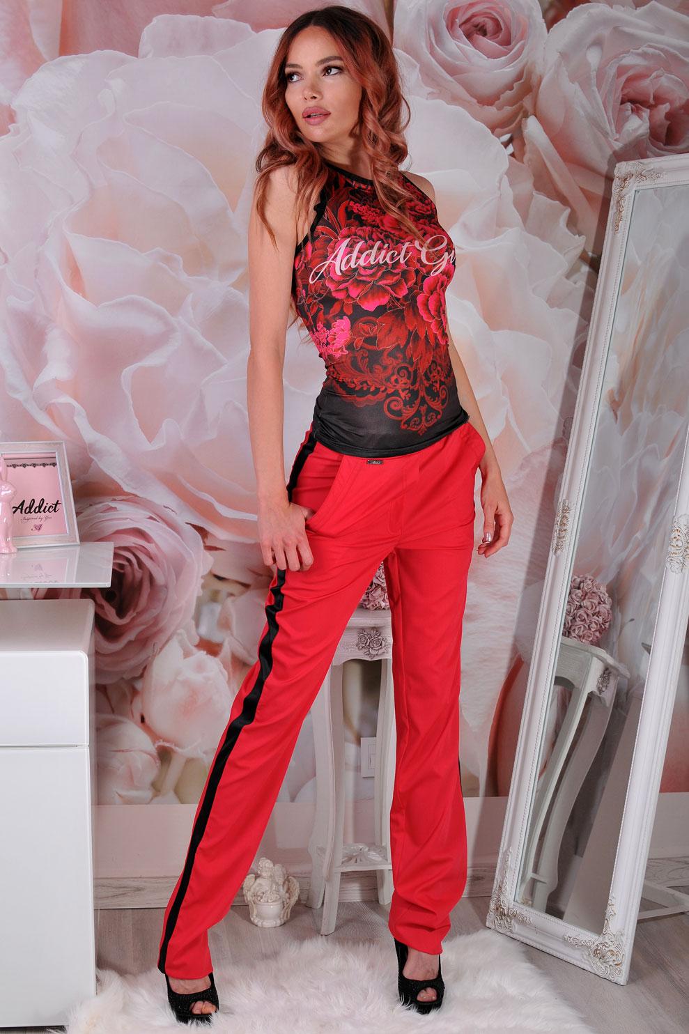 панталон червен