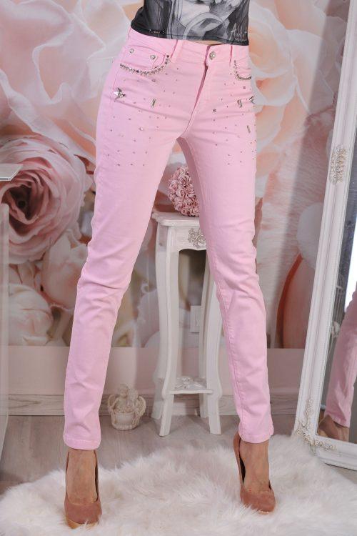 розови дънки