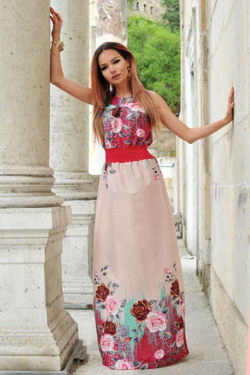 дълга рокля