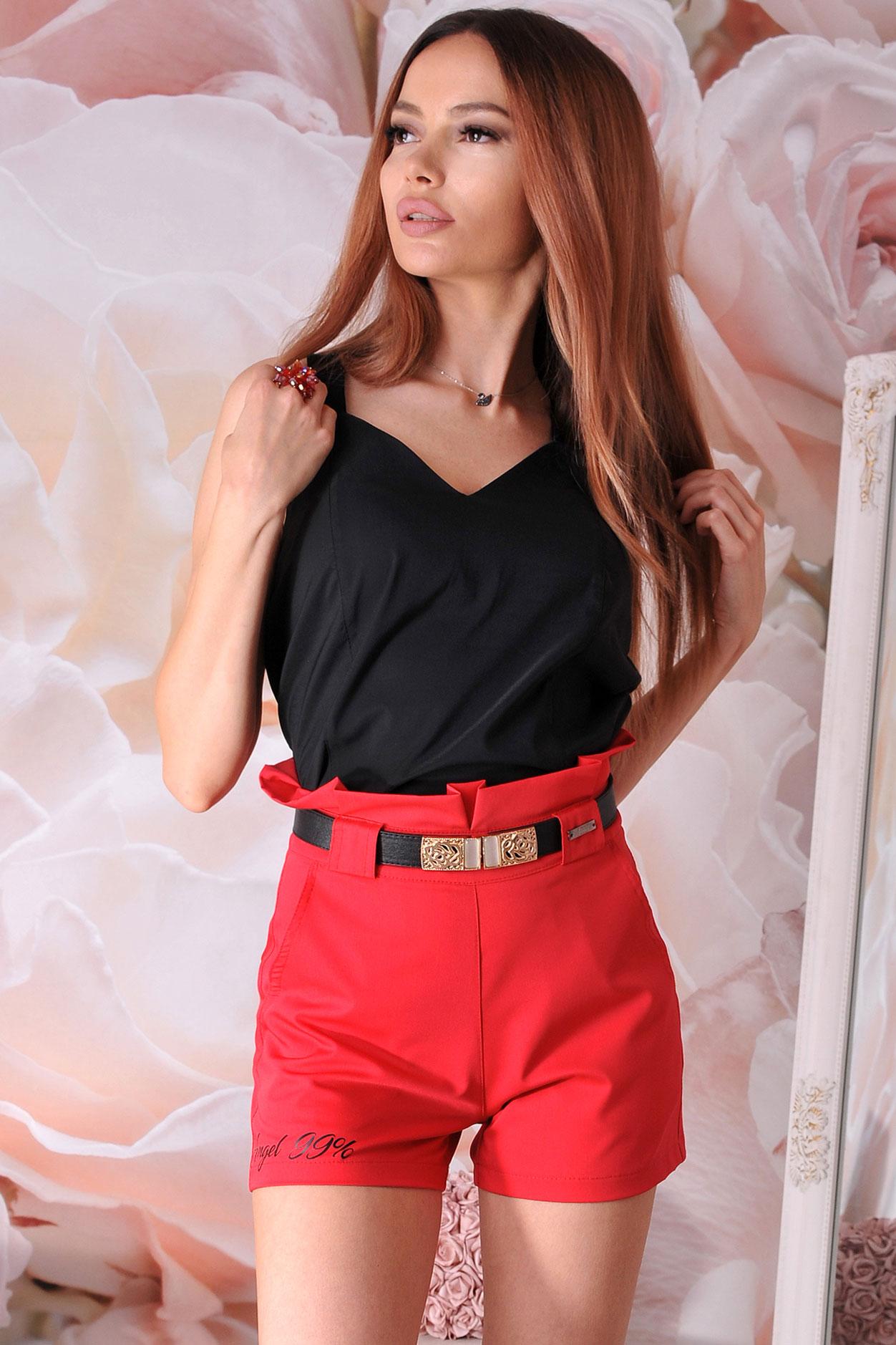 дамски панталонки червени