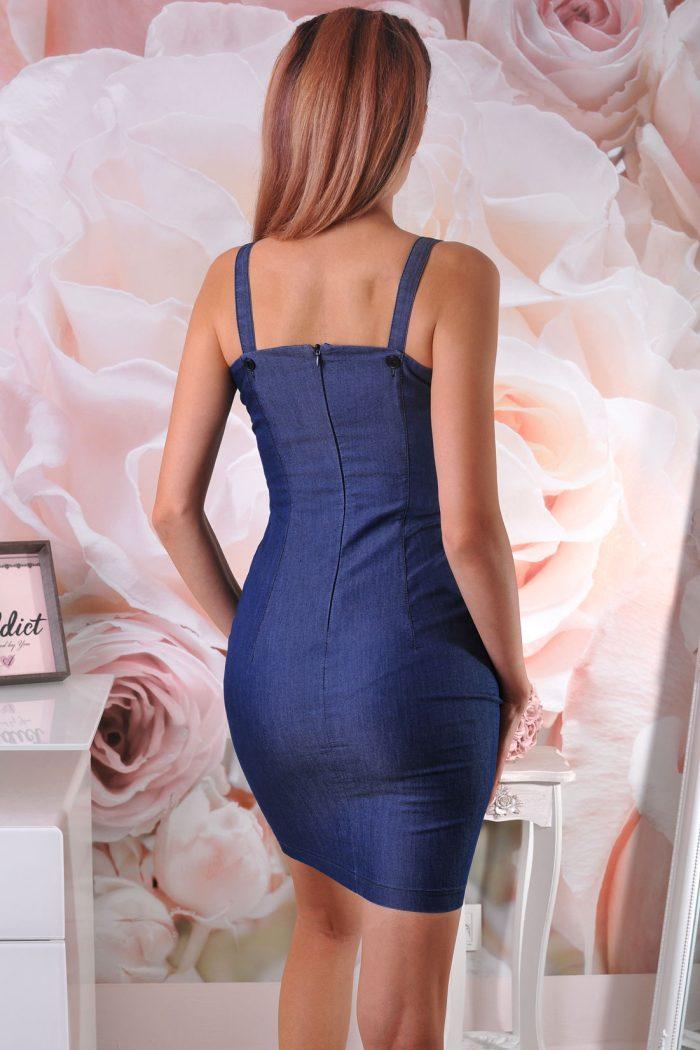 рокля синя