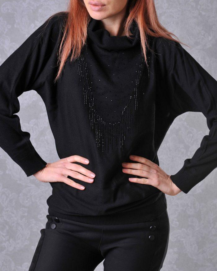 блуза плетиво
