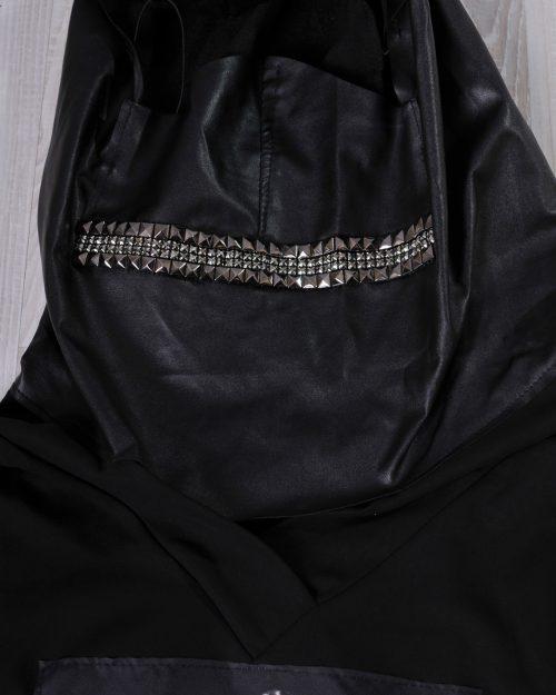 блуза с маска и качулка