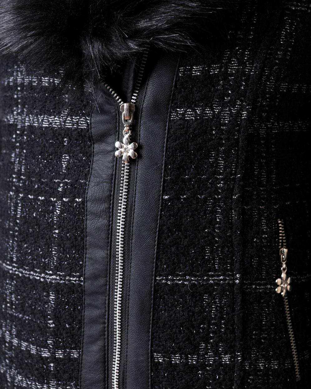 българско палто черно