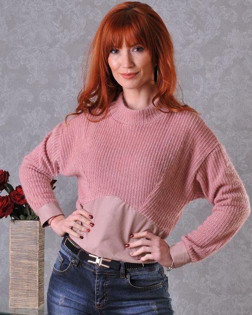 дамска къса блузка