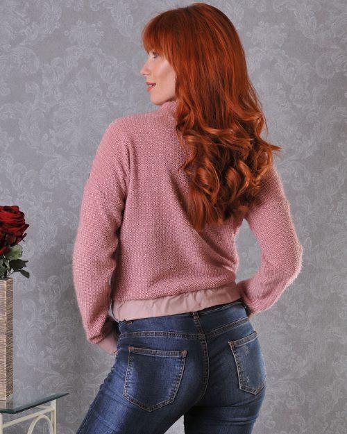 блуза цвят пудра