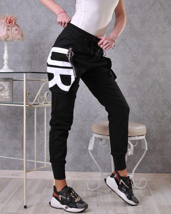 черен панталон спортен