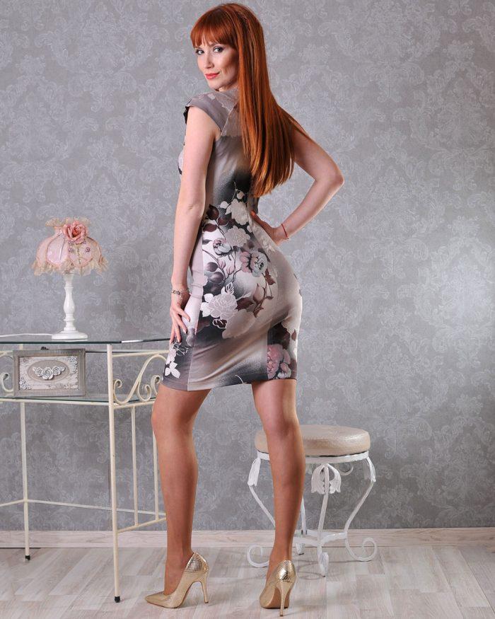 българска еластична рокля