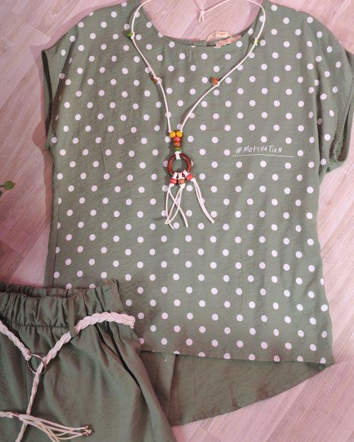 блуза точки